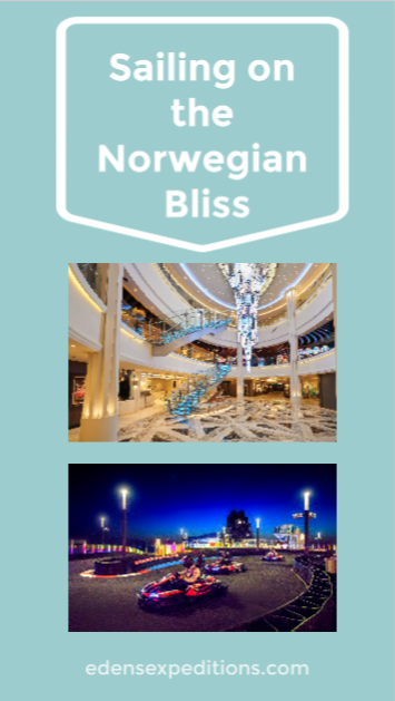 Sailing on the Norwegian Bliss Cruise Ship