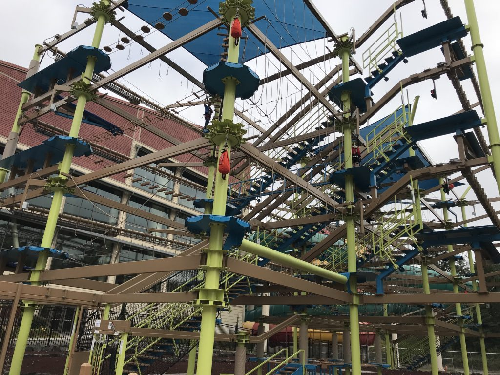 Great Wolf Lodge Ropes Course