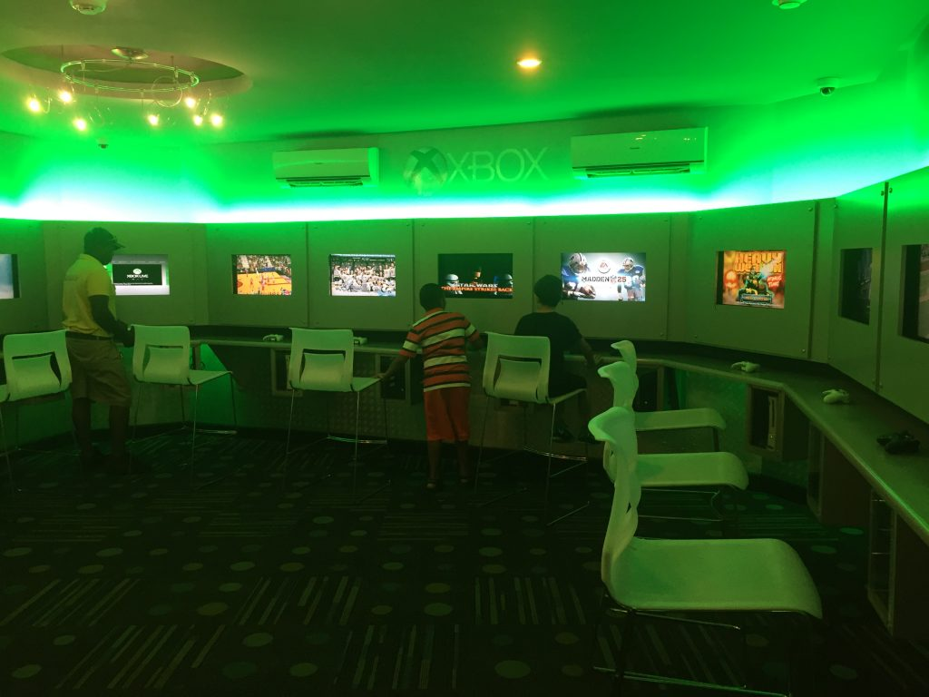 Xbox Play Lounge at Beaches Negril