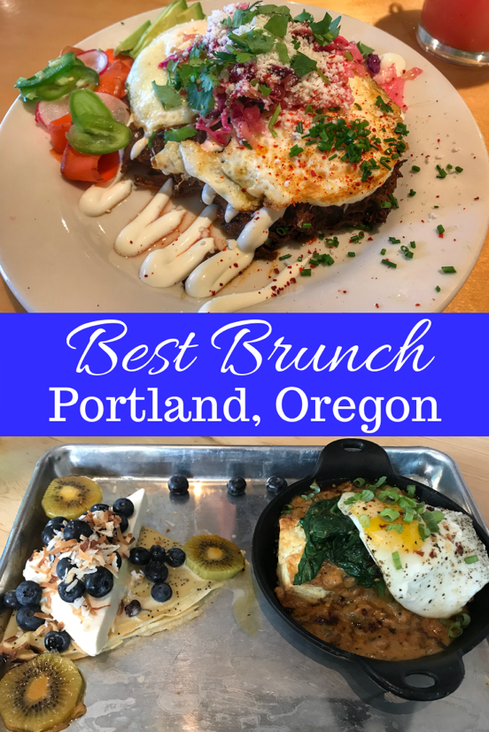 Best Brunch in Portland Oregon
