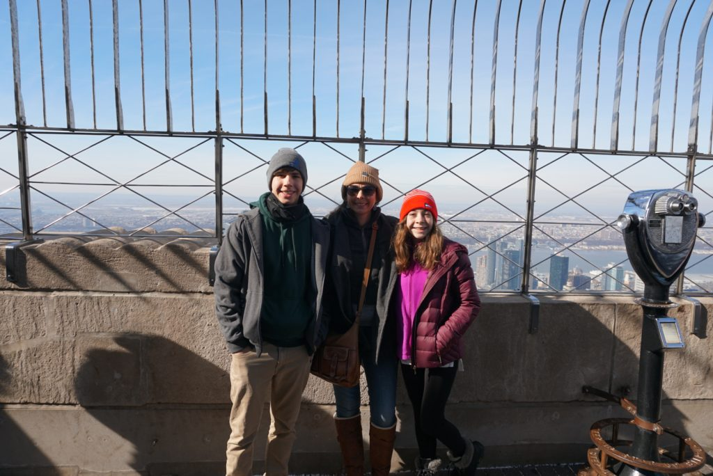 Family Trip to New York City