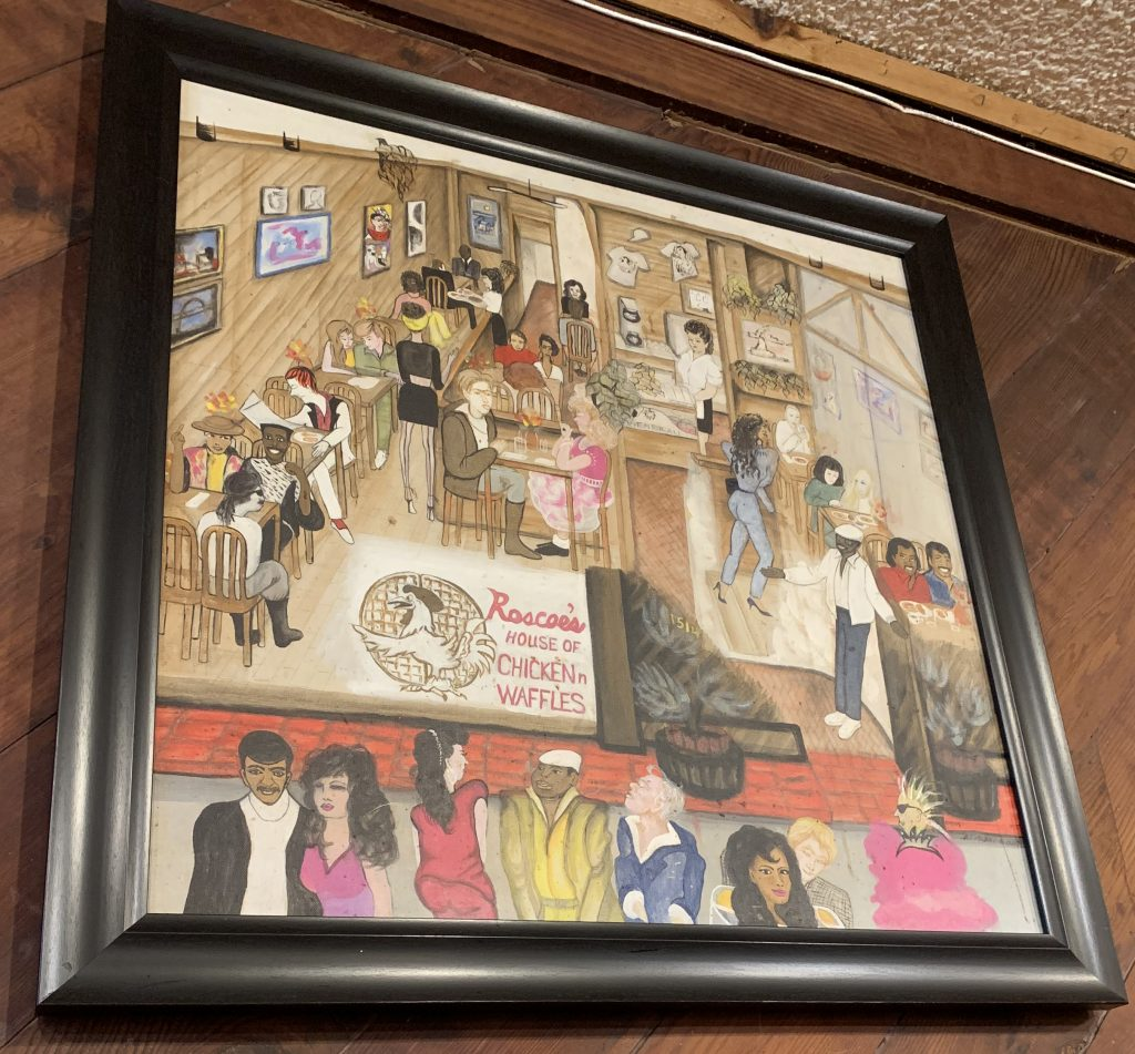 Inside Roscoes House of Chicken N Waffles