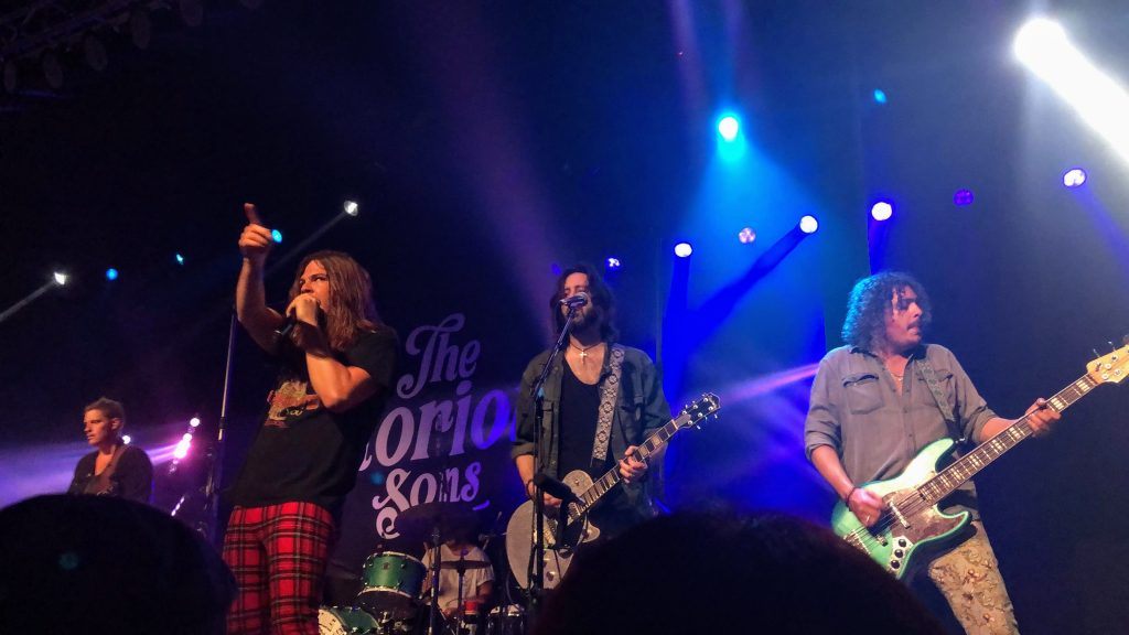 The Glorious Sons opening for The Struts