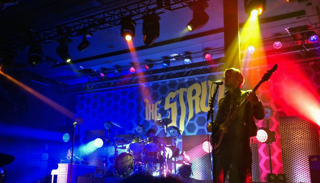 The Struts live in concert