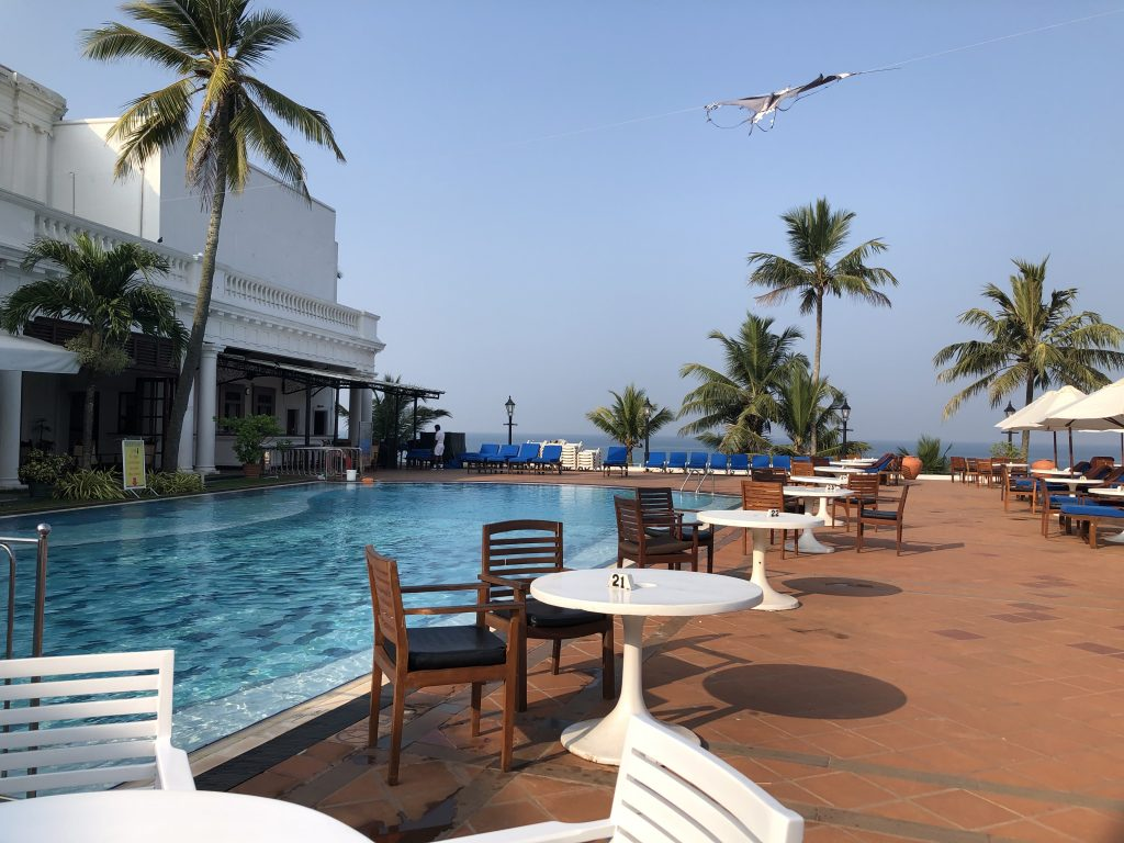 Pool at Mount Lavinia Hotel in Colombo Sri Lanka